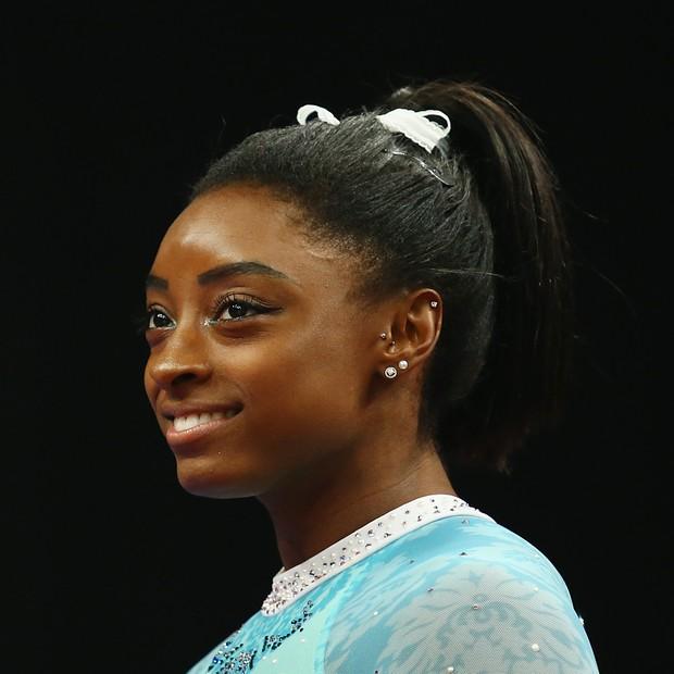 Simone Biles (Foto: Tim Bradbury/Getty Images)