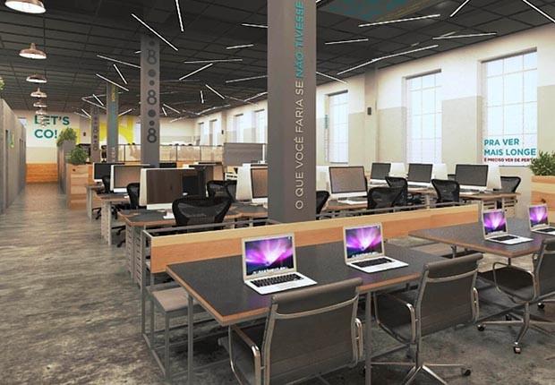 Oito, espaço de inovação e empreendedorismo da Oi (Foto: Divulgação/Oito)
