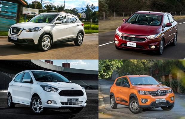 Os carros mais vendidos de março de 2018 (Foto: Autoesporte)