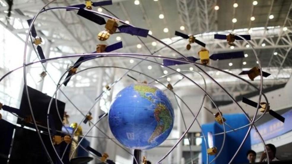 China espera atrair mais países para seu sistema de geolocalização ao ampliar sua capacidade — Foto: Reuters/BBC