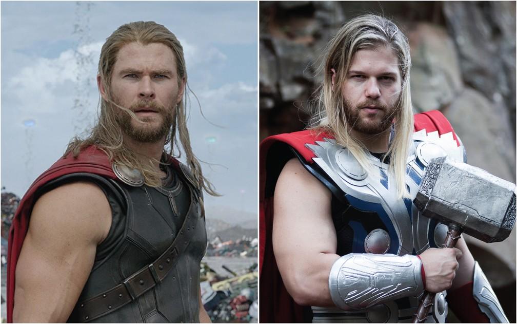 Ator De Thor: Cosplay De Thor, Brasileiro Aproveita Semelhança Com Ator