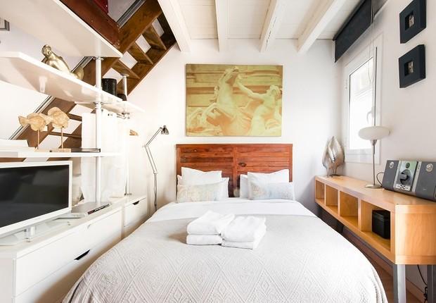 Loft em Barcelona, disponível no Airbnb (Foto: Divulgação)