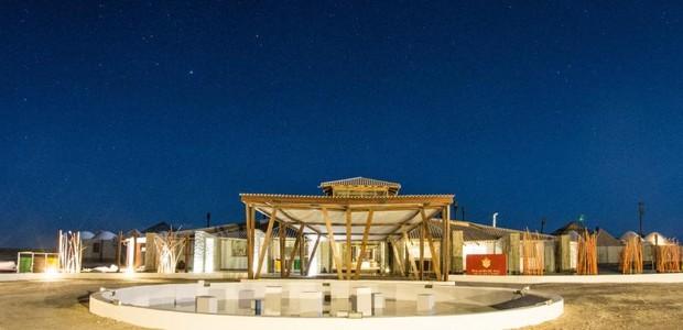 O Palácio de Sal, Salar de Uyuni, Bolívia, é o primeiro hotel de sal do mundo (Foto: Divulgação)