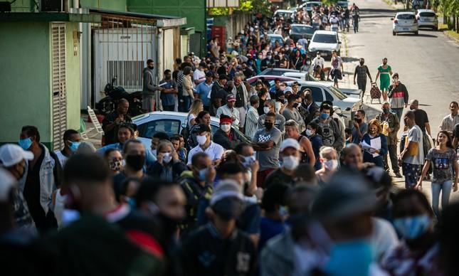 Pandemia agravou a crise