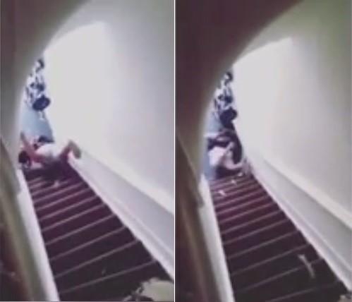 Mulher é empurrada escada abaixo em Amsterdã