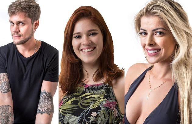 No 'Big Brother Brasil' 18, Breno beijou Ana Clara, mas logo depois iniciou um relacionamento com Jaqueline. Veja outros participantes que fizeram o mesmo (Foto: Reprodução)