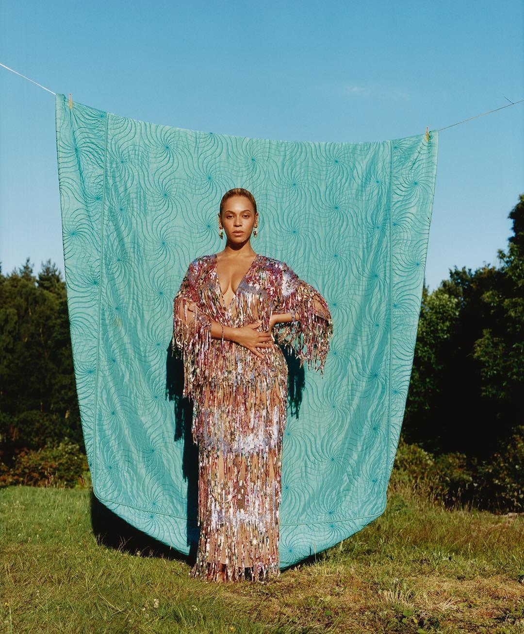 Beyonce na edição de setembro da Vogue (Foto: Reprodução/Instagram)