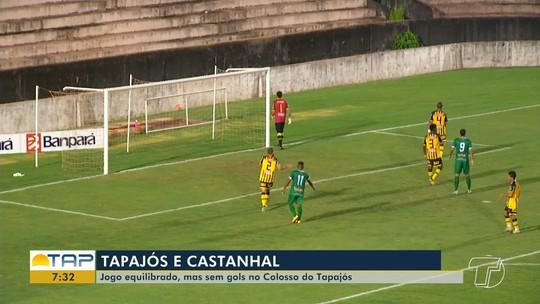 Tapajós x Castanhal - Campeonato Paraense 2019 - globoesporte.com
