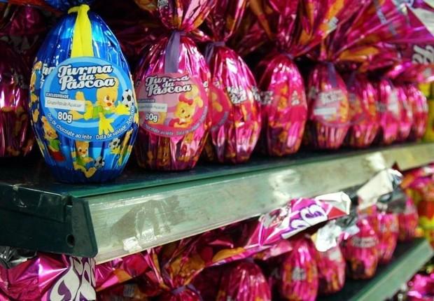Preço dos ovos de Páscoa aumentou mais do que o acumulado da inflação (Foto: Lucíola Villela/Agência O Globo)
