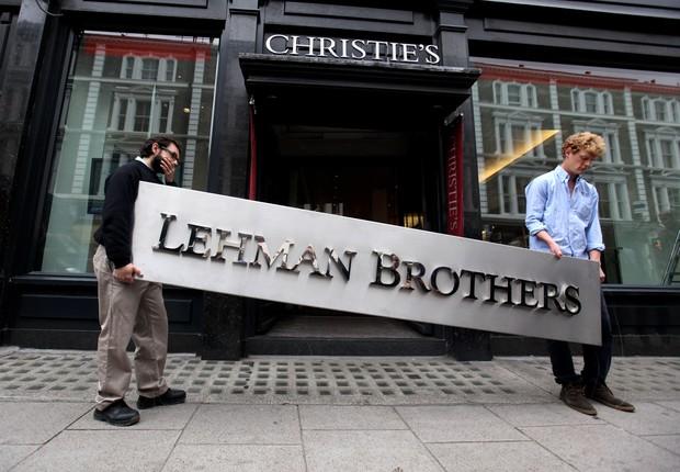 lehman brothers - crise financeira - crise de 2008 (Foto:  Oli Scarff/Getty Images)