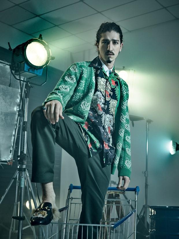 Johnny Massaro na GQ Style (Foto: Pedro Dimitrow)