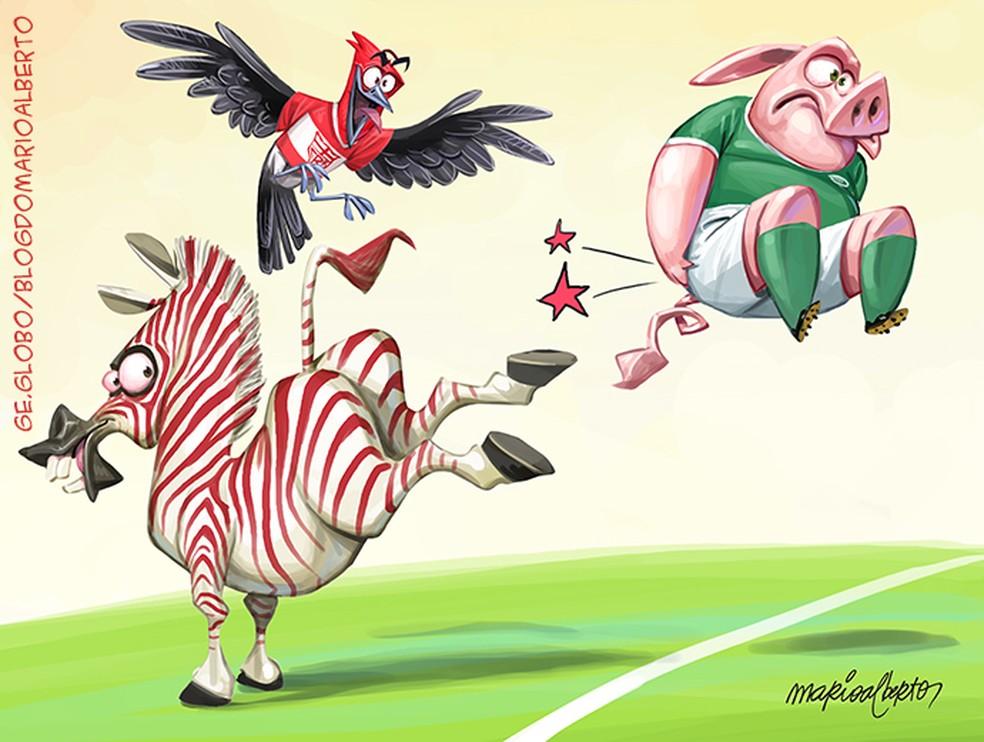 Show de Zebras na Copa do Brasil!
