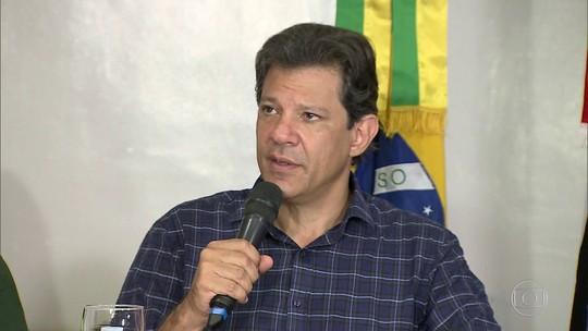 No Nordeste, Haddad faz proposta para Bolsa Família e gás de cozinha