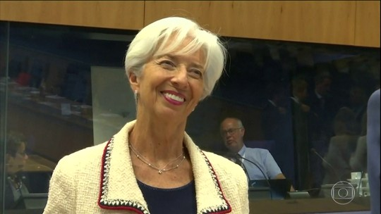 Christine Lagarde é a nova chefe do Banco Central europeu
