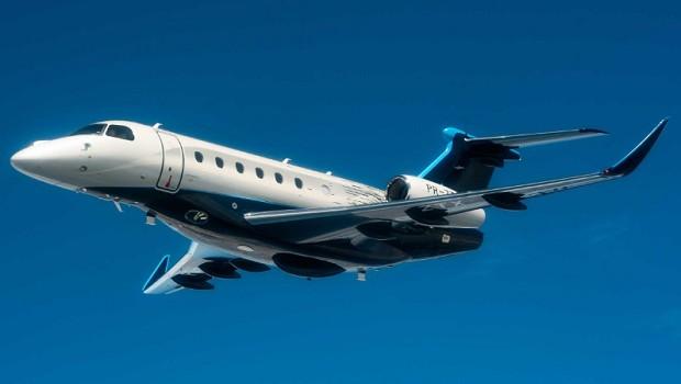Novo jato Praetor 600 da Embraer (Foto: Divulgação Embraer)
