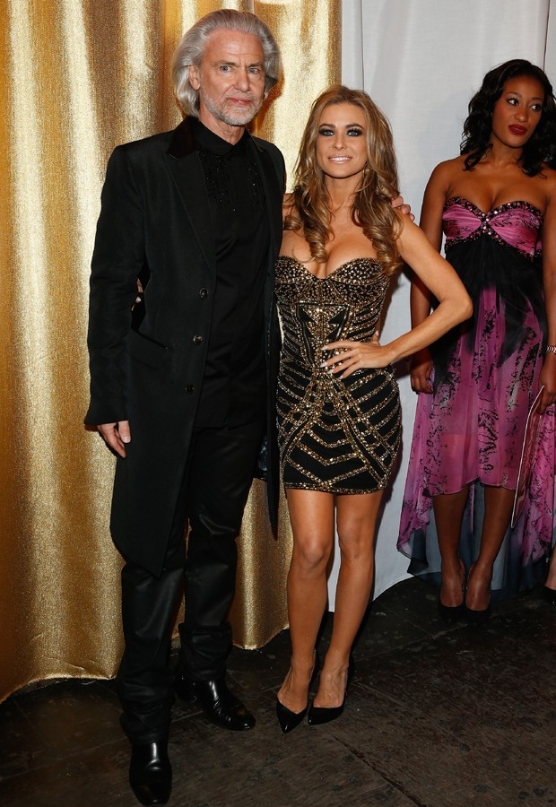 Carmen Electra e Hermann Buehlbecker (Foto: Getty Images)