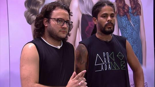 Prova do Líder Circuito Maxton Embelleze: Diego e Viegas são eliminados