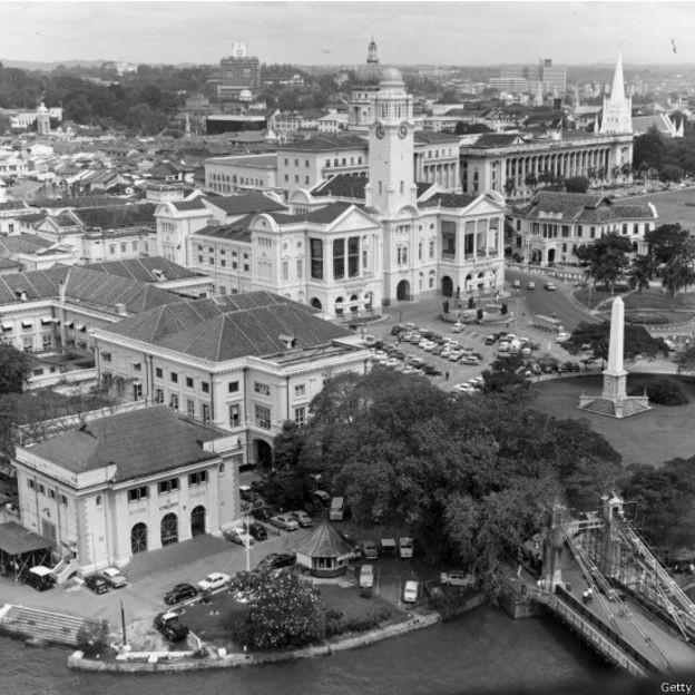 Cingapura conquistou sua independência em 1965 e logo começou um programa de reformas econômicas (Foto: Getty Images via BBC)