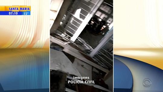 Criminosos usam explosivos para abrir caixas eletrônicos de banco de Campestre da Serra