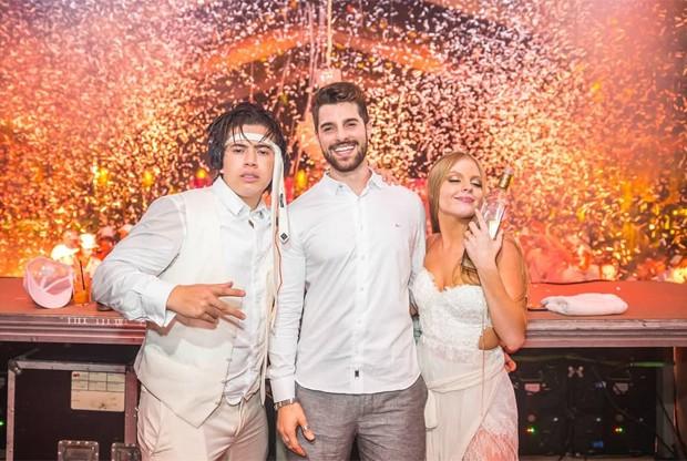 Whindersson Nunes, Alok e Luísa Sonza (Foto: Alisson Demetrio)