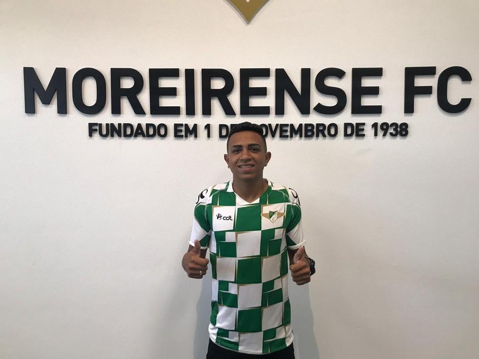 Luiz Henrique foi vendido para o Moreirense — Foto: Divulgação