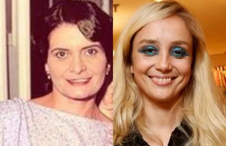 Simone Spoladore dá vida a Clotilde, irmã de Lola. Na trama de 1994, a personagem coube a Jussara Freire Reprodução / Reprodução Instagram