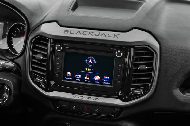 Fiat Toro 2.4 Blackjack (Foto: Divulgação)
