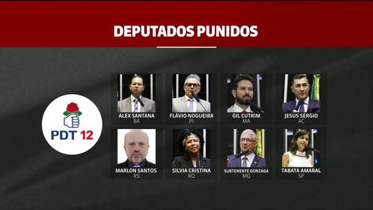 PDT pune oito deputados que votaram a favor da reforma da Previdência