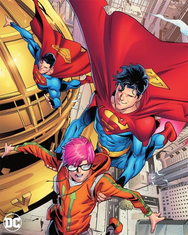 Superman será bissexual em nova edição de HQ (Foto: John Timms / DC Commics)