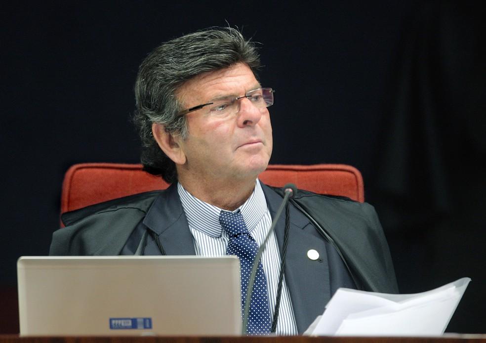 O ministro Luiz Fux (Foto: Divulgação/STF)