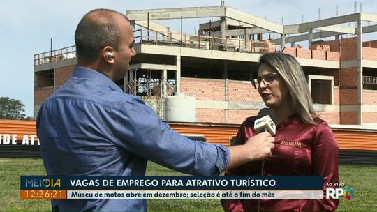 Atrativo turístico tem 70 vagas de trabalho abertas em Foz do Iguaçu
