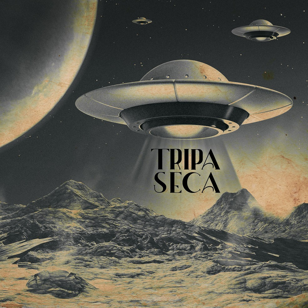 Capa do álbum 'Tripa Seca' — Foto: Divulgação