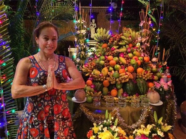 Cissa Guimarães em Siem Reap, no Camboja (Foto: Reprodução/Instagram)