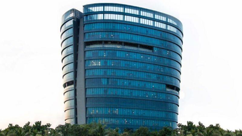 A Zoho tem um escritório chique em Chennai, mas muitos funcionários preferem trabalhar em suas cidades natais (Foto: ZOHO CORP)