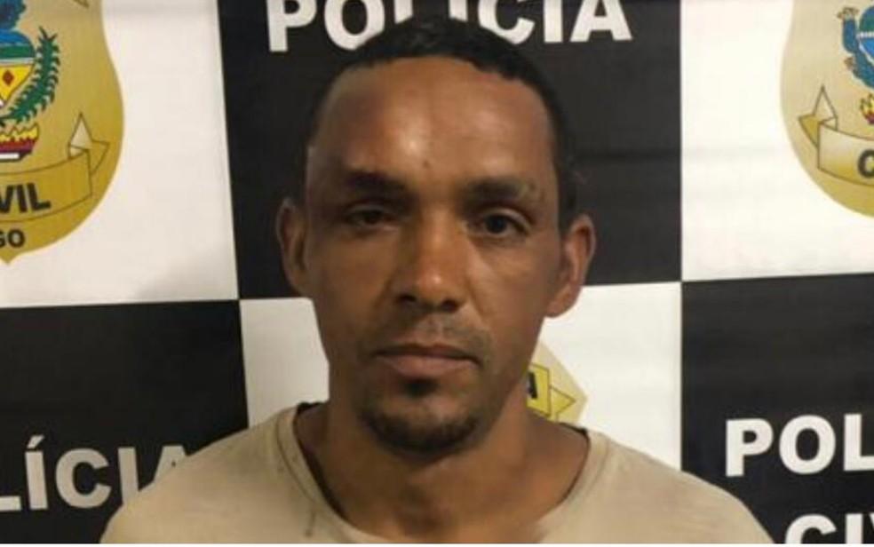 Vendedor Valdireno Pereira de Souza, de 36 anos, preso por tentativa de feminicídio — Foto: Divulgação/Polícia Civil