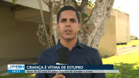 Idoso é preso suspeito de estuprar criança, em Campina Grande