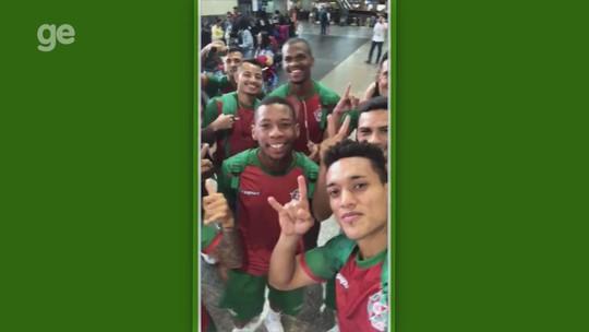 """Jogadores do Boa mandam recado para torcida antes de estreia: """"Todo mundo empolgado"""""""
