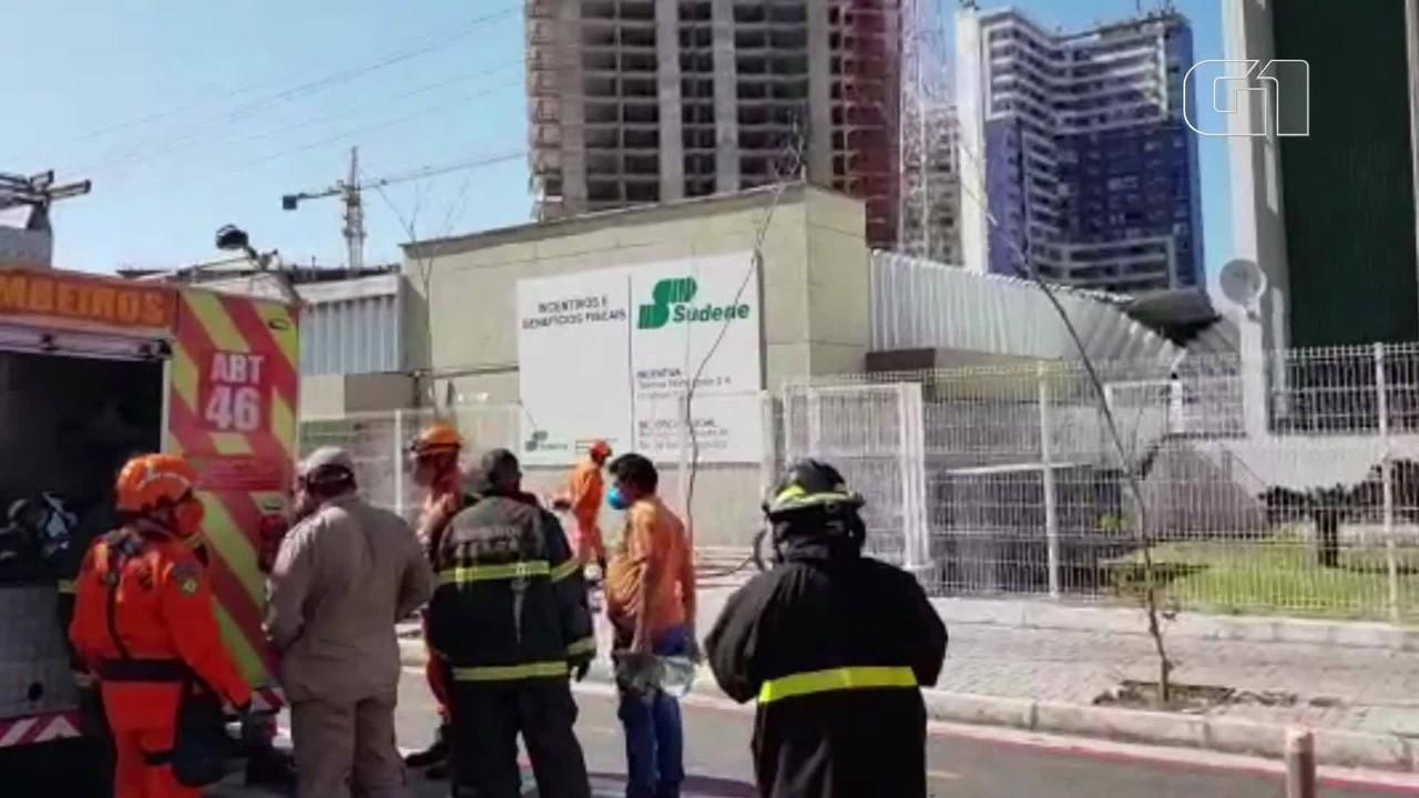 Prédio atingido por explosão em Fortaleza teve estrutura comprometida e vai ser demolido,