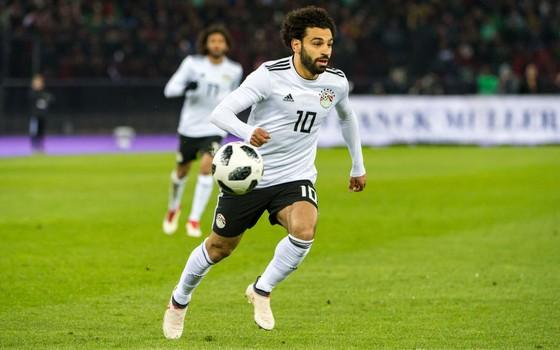 Mohamed Salah. O egípcio comanda a seleção que vai enfrentar Uruguai, Rússia e Arábia Saudita na Copa de 2018 (Foto: Getty Images)
