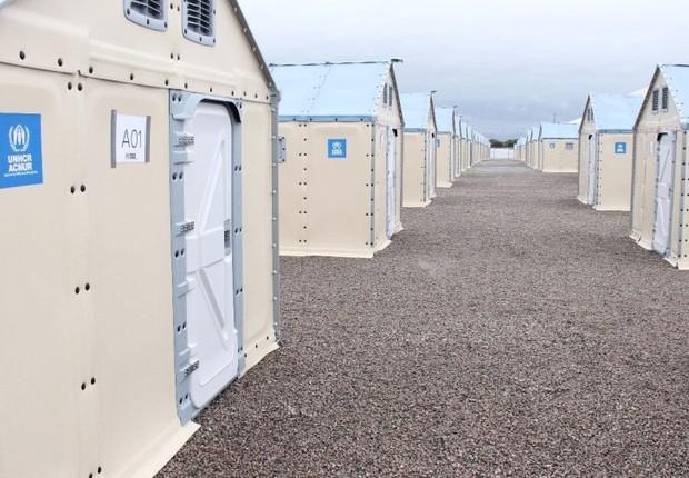 Unidades habitacionais refugiados venezuelanos (Foto: Reprodução/ ACNUR)