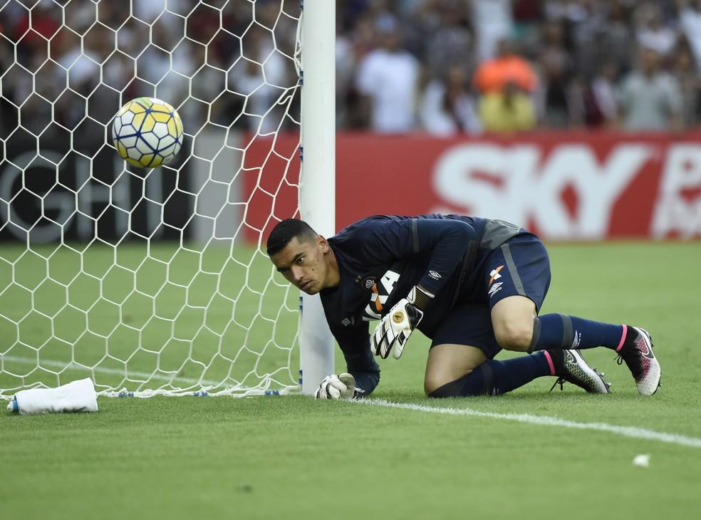 Santos deve ser o camisa 1 do Atlético-PR em 2018 (Foto: André Durão)