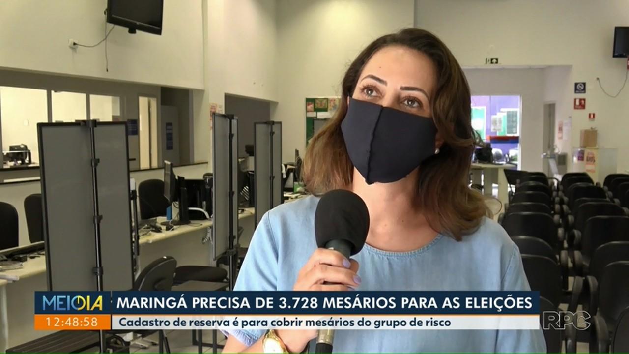 Maringá precisa de 3,7 mil mesários para as eleições