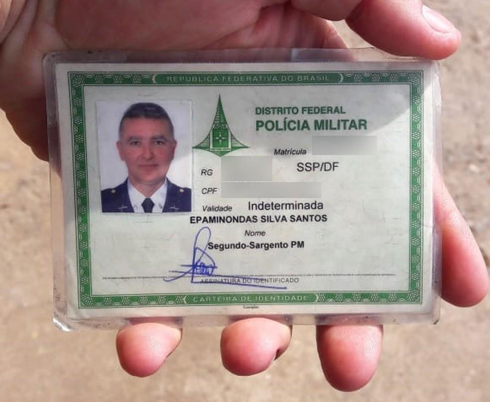 Policial militar Epaminondas Silva Santos é suspeito de assassinar ex-mulher e se matar em seguida (Foto: Reprodução)