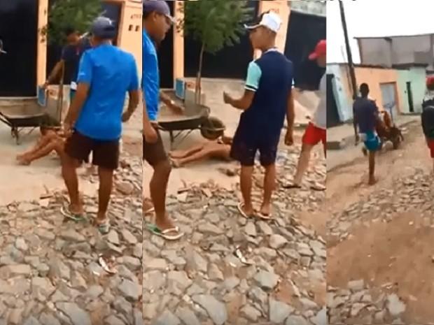 Dandara dos Santos, 42 anos, travesti espancada e morta em Fortaleza (Foto: Reprodução)