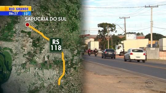 Duplicação da ERS-118 deve retirar cerca de 300 famílias da área da rodovia