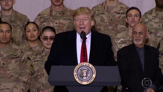 Em meio a mais uma crise com a China, Donald Trump vai ao Afeganistão de surpresa