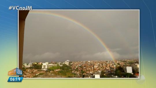 Com manhã chuvosa, Salvador tem dia nublado e previsão de sol pela tarde; confira previsão de outras cidades