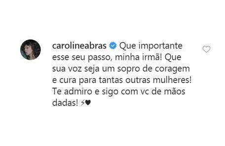Caroline Abras Reprodução