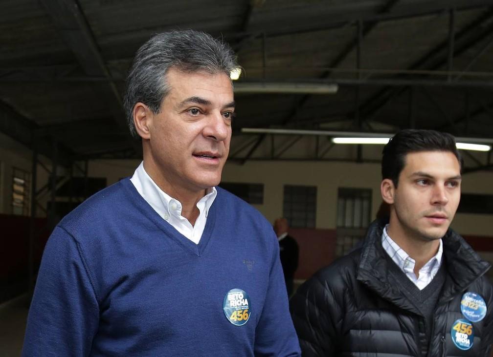Beto Richa — Foto: Giuliano Gomes/PR PRESS