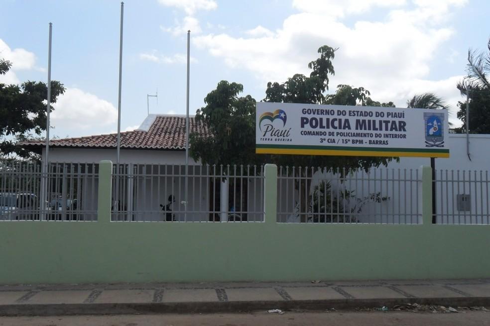 15º Batalhão da Polícia Militar em Barras, Piauí. — Foto: Divulgação/PM